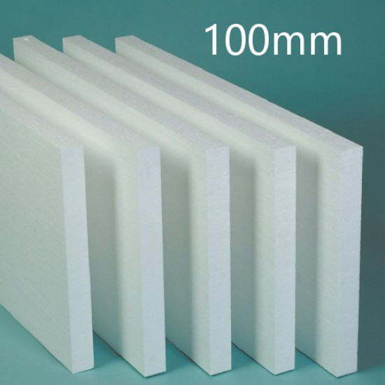 Arbet 100mm White Polystyrene Board EPS for EWI (6 pcs) 3m2