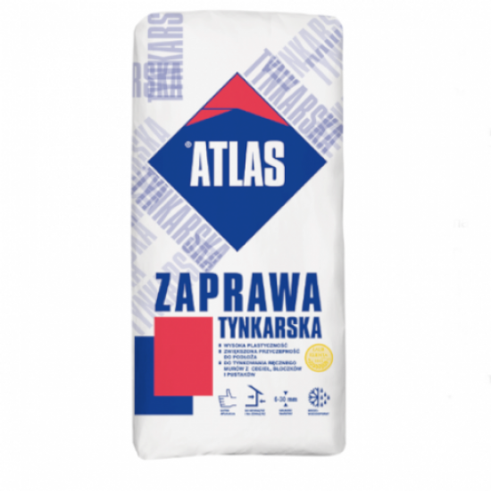 Atlas Traditional Sand And Cement Packed Render - 25kg