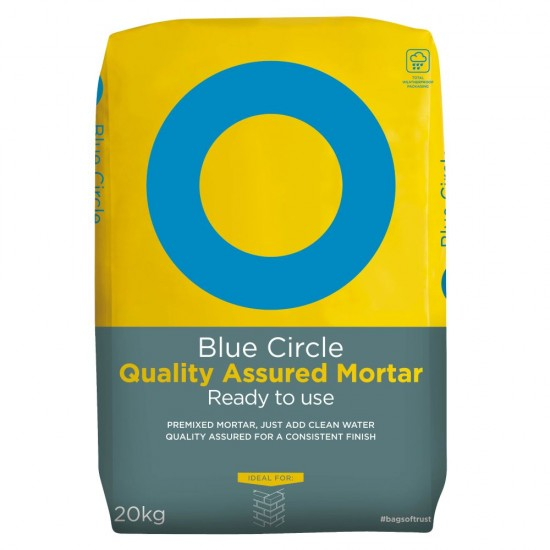 Blue Circle Quality Assured Ready to Use Mortar 20kg