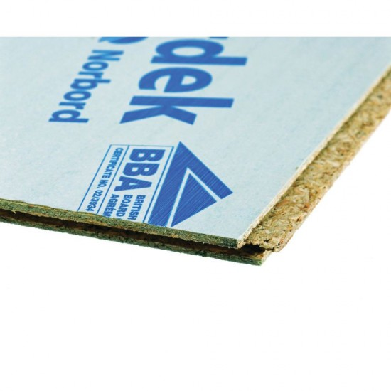 22mm x 2400mm x 600mm Caberdek P5 Tongue and Grooved Moisture Resistant Chipboard Flooring