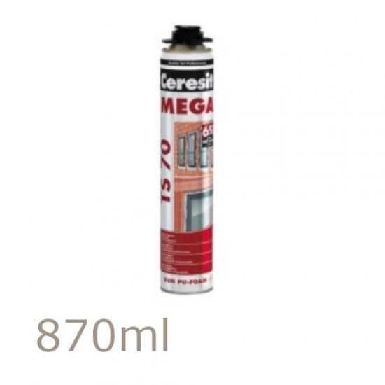 Ceresit TS70 Mega PU Foam - High Performance 870ml