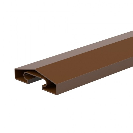 65mm x 1830mm Durapost Fence Capping Rail Sepia Brown Home Delivered
