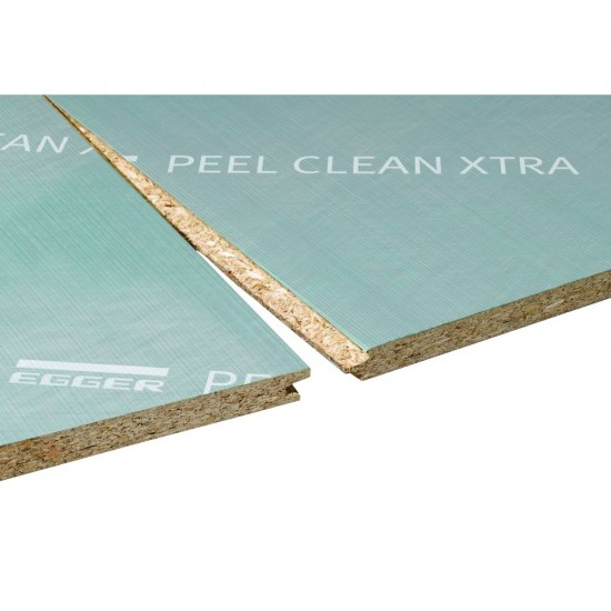 22mm x 2400mm x 600mm Egger Peelclean XTRA Tongue and Grooved Chipboard Flooring