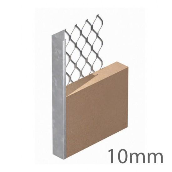 10mm x 2.4m Expamet Internal Plaster Stop Bead