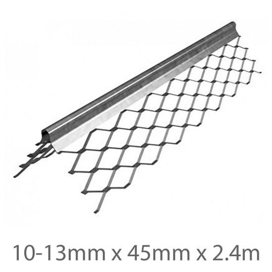 10-13mm x 45mm x 2.4m Expamet Internal Standard Angle Bead