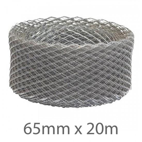 65mm x 20m Expamet Galvanised Mesh Coil