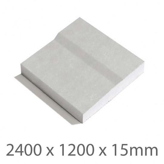 2400 x 1200 x 15mm GTEC Fire Tapered Edge Plasterboard