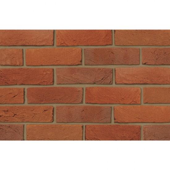 Ibstock Brick Swanage Handmade Light Red Multi - Pack Of 476