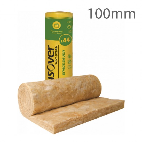 100mm Isover Spacesaver Insulation Roll
