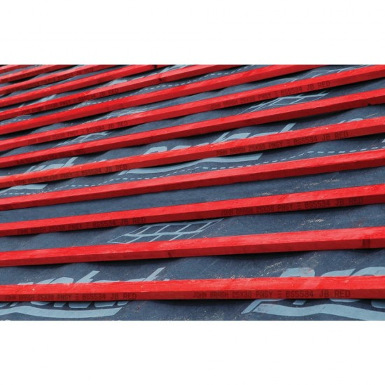 25mm x 50mm x 3.6m John Brash BS5534 Red Graded Treated Timber Roofing Batten