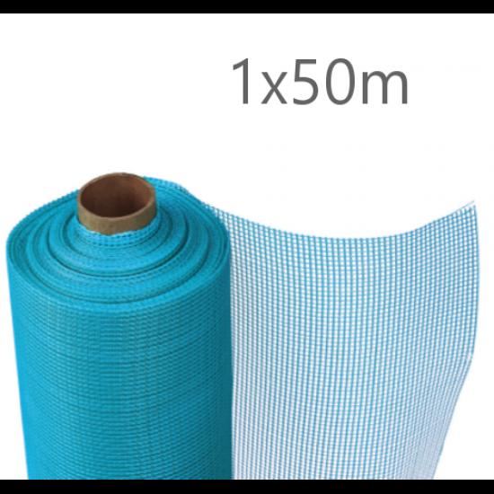 Knauf Aquapanel Exterior Reinforcing Mesh - Blue 50m
