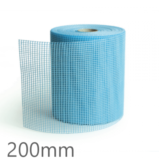 Knauf Aquapanel Exterior Reinforcing Tape - Blue 200mm