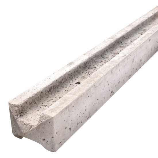 Marshalls Concrete Fence Post Slotted Intermediate 10ft