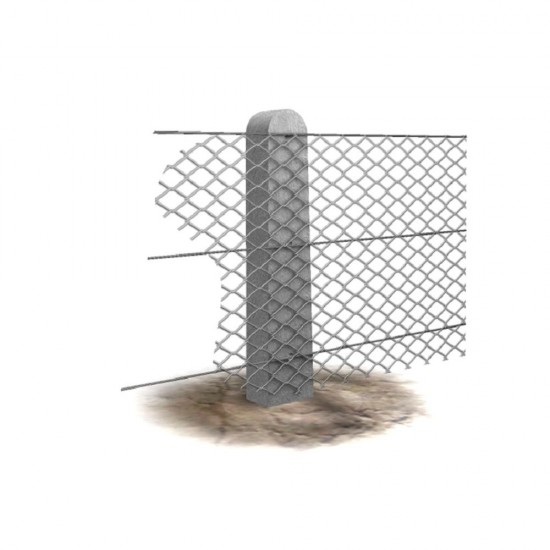 4ft 9in Supreme Concrete Chainlink Intermediate Post CHK145I (Pack of 36)