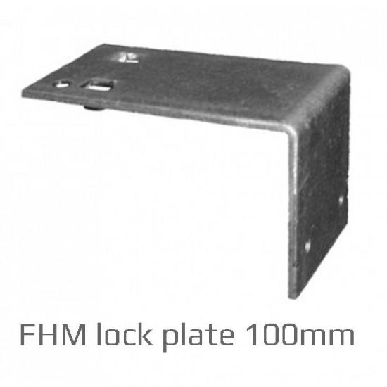 100mm Masonry Hanger Single Piece Lock Plate