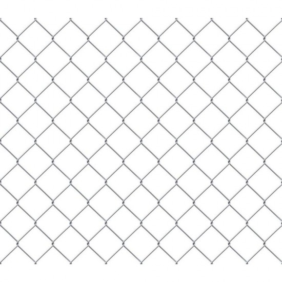 900mm x 50mm x 2.5mm 25m Tenax Galvanised Chainlink Fence