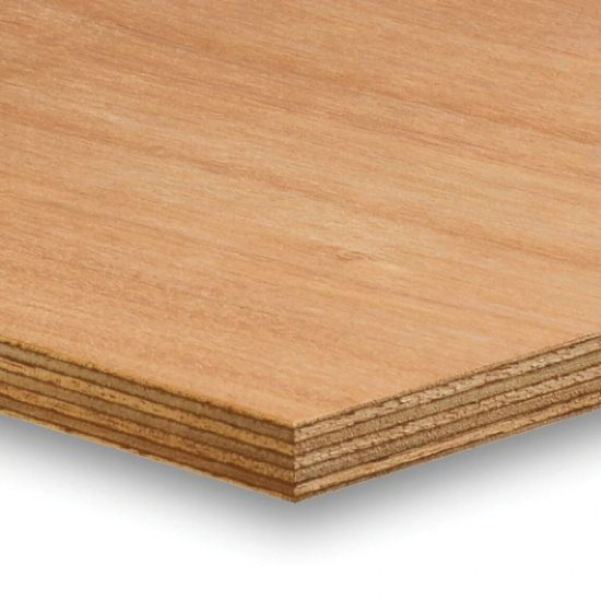 2440mm x 1220mm x 12mm Marine Plywood BS1088