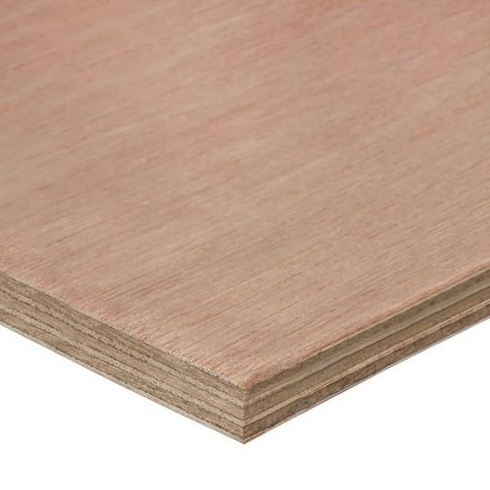 2440mm x 1220mm x 15mm Structural Hardwood Plywood EN636/2 EN314-2 Class 2 Glue