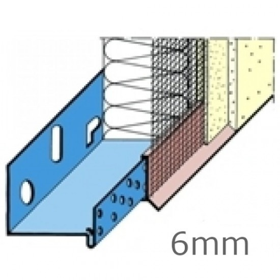 Wemico 6mm PVC System Base Track Clip - Drip with Mesh (15 pcs)